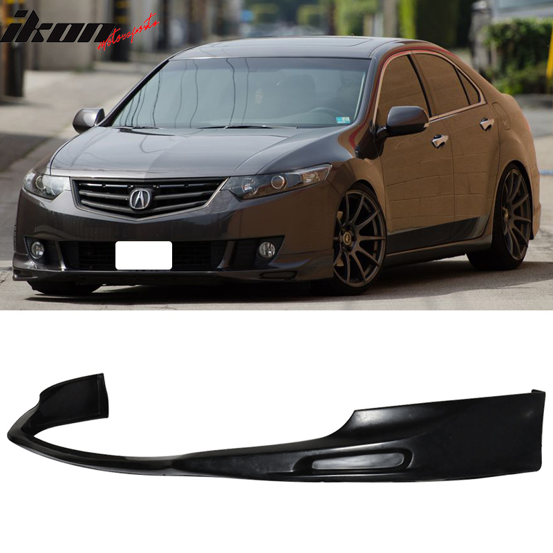 Fits 09-10 Acura TSX CU1 JDM Type S Style Front Bumper Lip